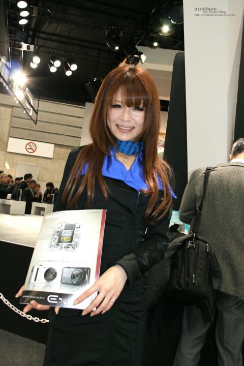 安藤ひろこ  / カシオ計算機 -CP+2011-