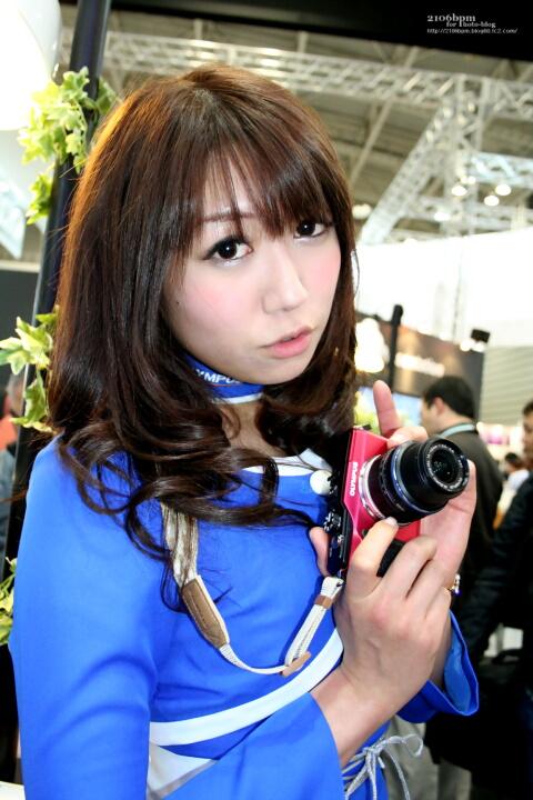 穂川果音 / オリンパスイメージング -CP+2011-