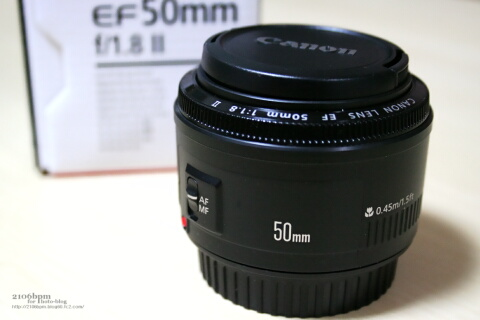 EF50mm F1.8 II / CANON