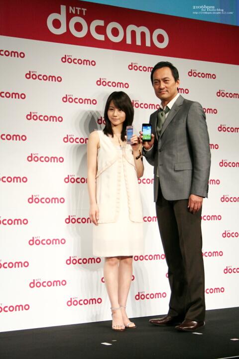 堀北真希 渡辺謙 2011年夏モデル 新商品・新サービス発表会
