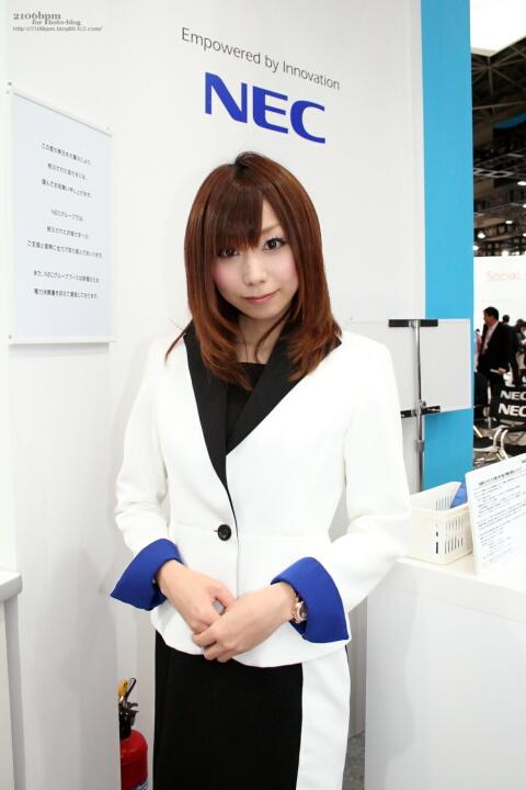 大橋はるか / NECグループ -WIRELESS JAPAN 2011-