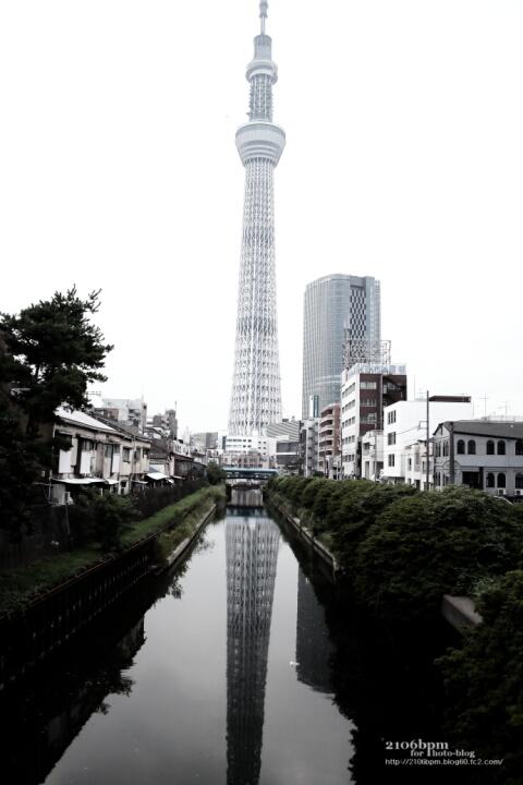 十間橋から東京スカイツリー / 東京都墨田区