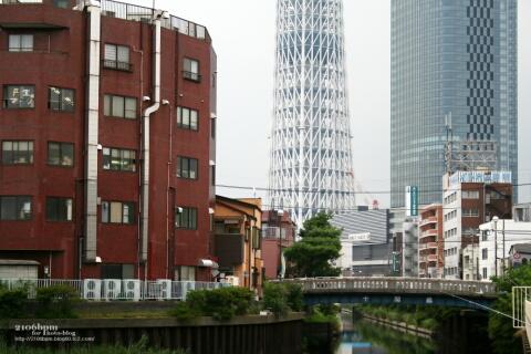 十間橋と東京スカイツリー / 東京都墨田区