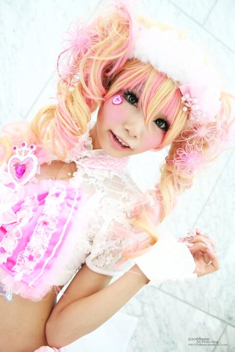 キャラ/作品:オリジナルピンクドレス コスプレイヤー:姫宮まほれ@となりでコスプレ博2011夏 1日目