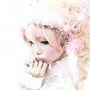 ☆姫宮まほれ (オリジナルピンクドレス) パート2 @となりでコスプレ博 in TFT 2011夏☆