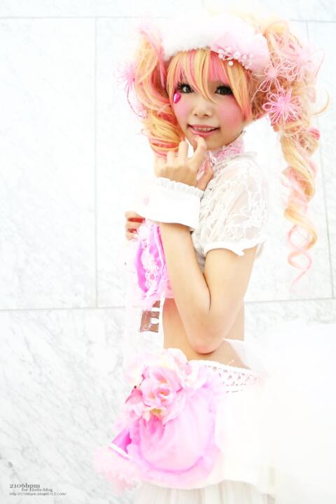 オリジナルピンクドレス 姫宮まほれ@となりでコスプレ博2011夏 1日目