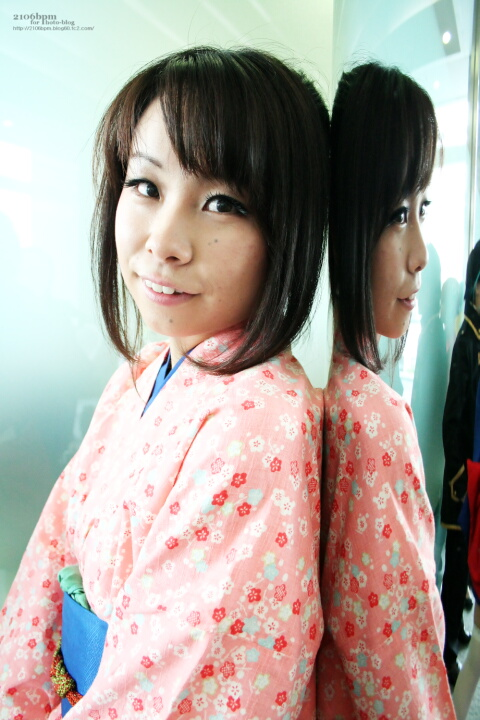 キャラ/作品:志村妙/銀魂 コスプレイヤー:月草水菜(つきくさみずな)@となりでコスプレ博2011夏 1日目