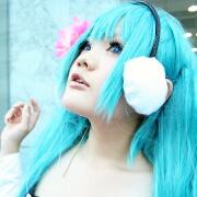 ☆ここのえ (初音ミク) @となりでコスプレ博 in TFT 2011夏☆