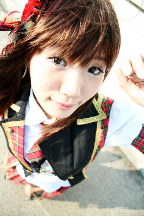 キャラ/作品:大島優子/AKB48 コスプレイヤー:高遠萌枝@となりでコスプレ博2011夏 3日目