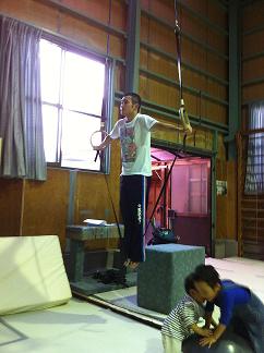 十字懸垂 2