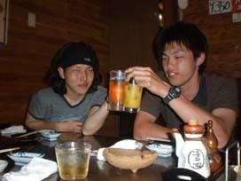飲み会 3中 梶さん