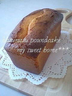 蜂蜜パウンドケーキ