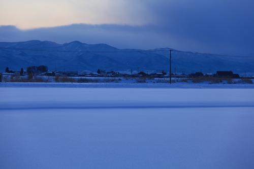 ベルビアで雪景色