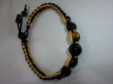 黄色と黒のストレート