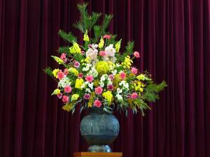 入学式の花