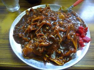 マルトマ食堂ホッキ貝カレー