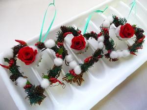 ミニクリスマスリース
