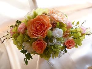 開店記念日の花