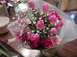 入学式の花束