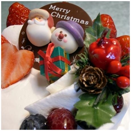 クリスマスショートケーキ1