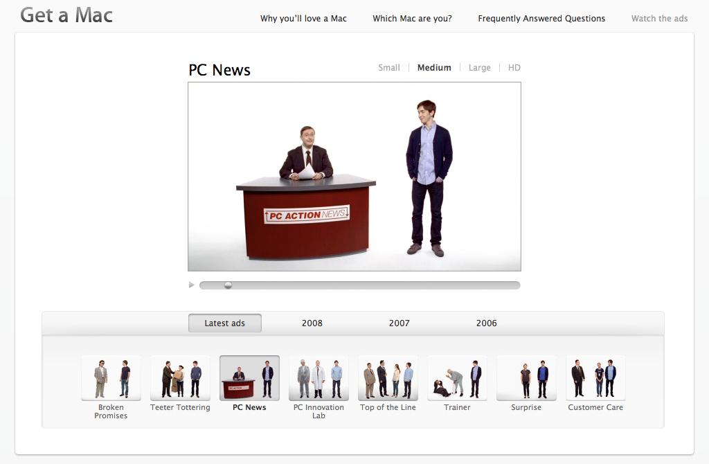 Get a Mac - PC News