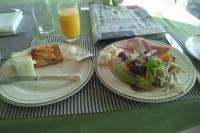 33Fのレストランの朝食バイキング