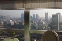33Fレストランから見た東京の景色