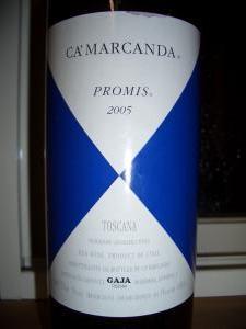CA'MARCANDA PROMIS 2005