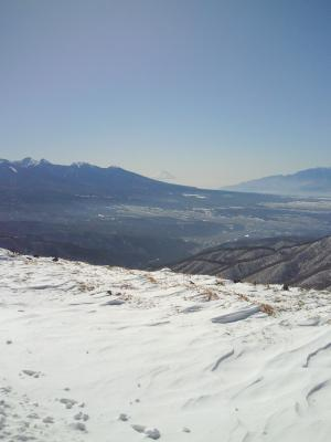 車山スキー場-富士山-