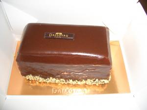 DALLOYAU PARIS-チョコレートケーキ-