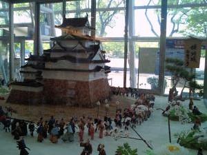 姫路城 白鷺の夢