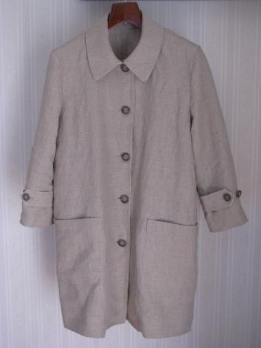 七部袖コート
