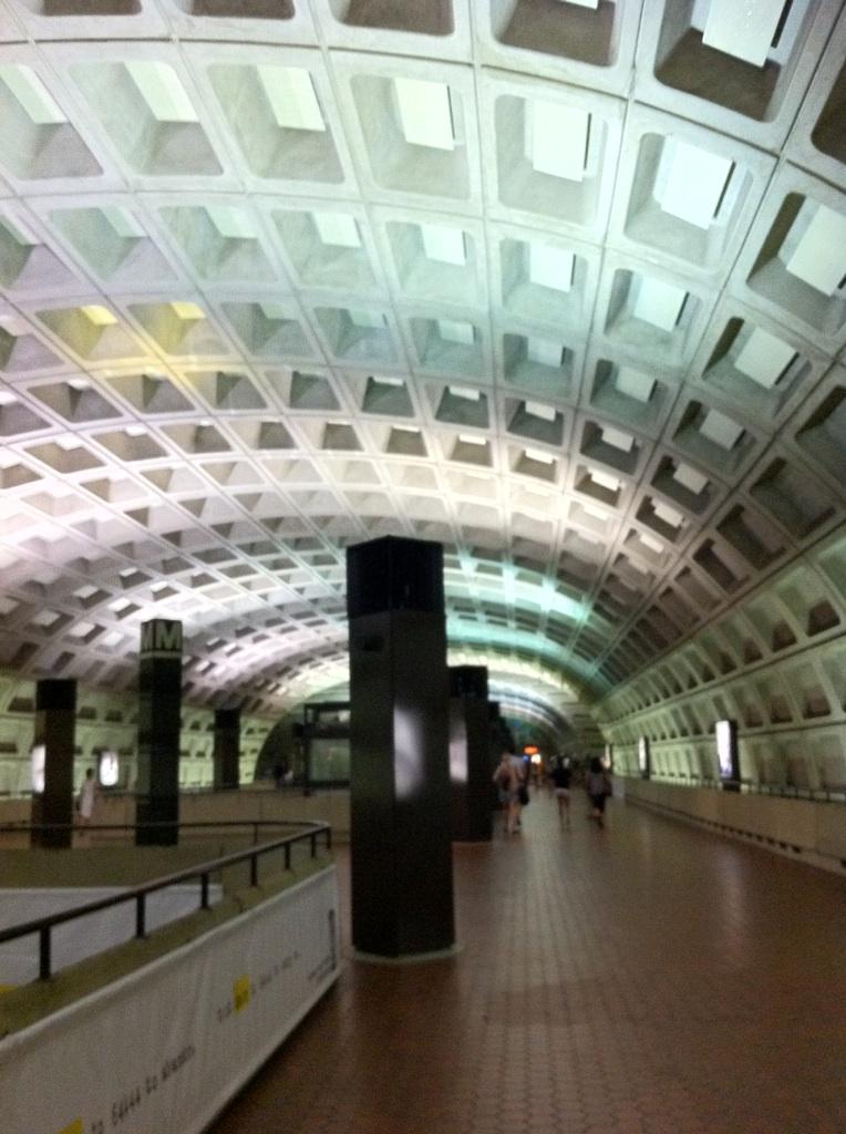 IMG_1606ワシントンDCの地下鉄