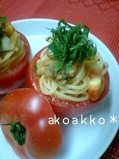 トマトアサリスパ