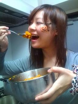 主食はかぼちゃb