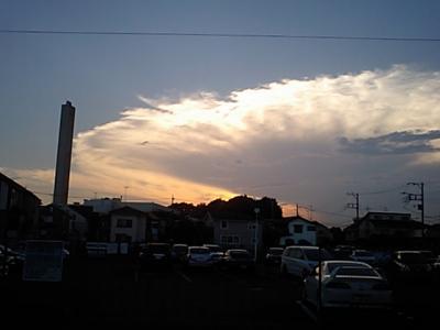 20110713国分寺の西の空.JPG