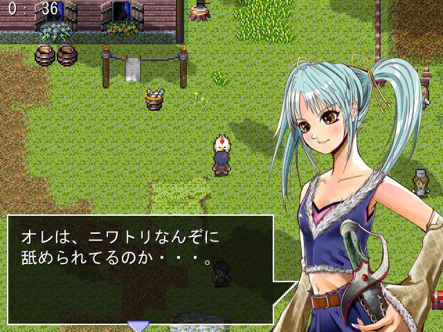 ゲーム製作画面