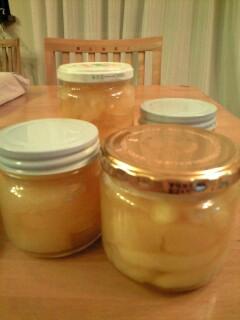 りんごの蜜煮