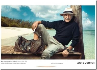 Sir Sean Connery For Louis Vuitton