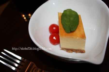 お手製ベイクドチーズケーキ