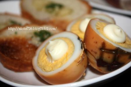 お手製 ゆで卵の燻製