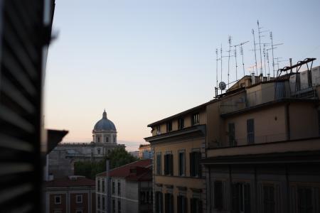 ローマの朝