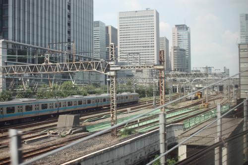 東京駅近し