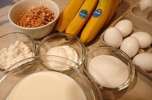 ココナッツパイ材料