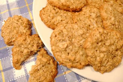 ココナッツクッキー仕上げ