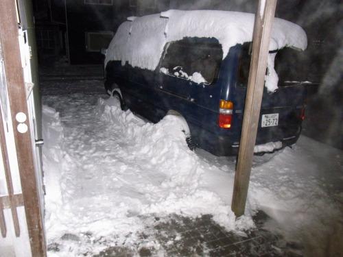 富山では今冬で一番の暴雪でした。2