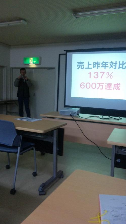 八尾山田商工会の売り上げアップセミナー参加3