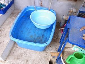 残り湯を農業2