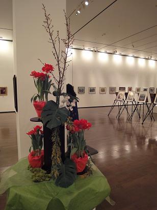 押し花の作品展