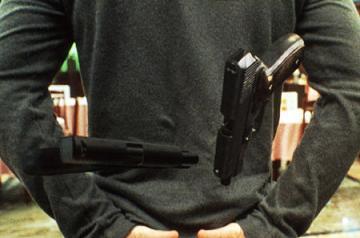 PUSH画像 銃の遠隔操作